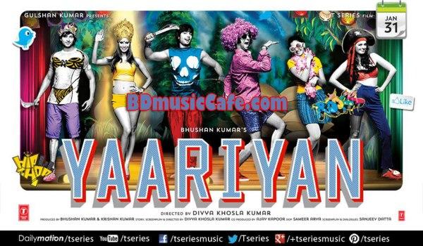 Yaariyan Hindi Movie Official Poster