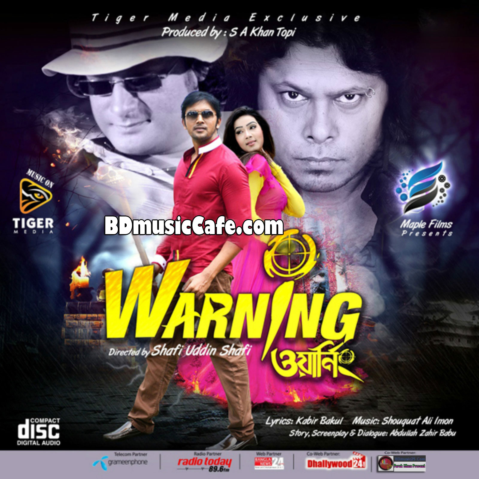 Warning (2015) Bangla Movie All Full Mp3 Songs Download | BD Music ...