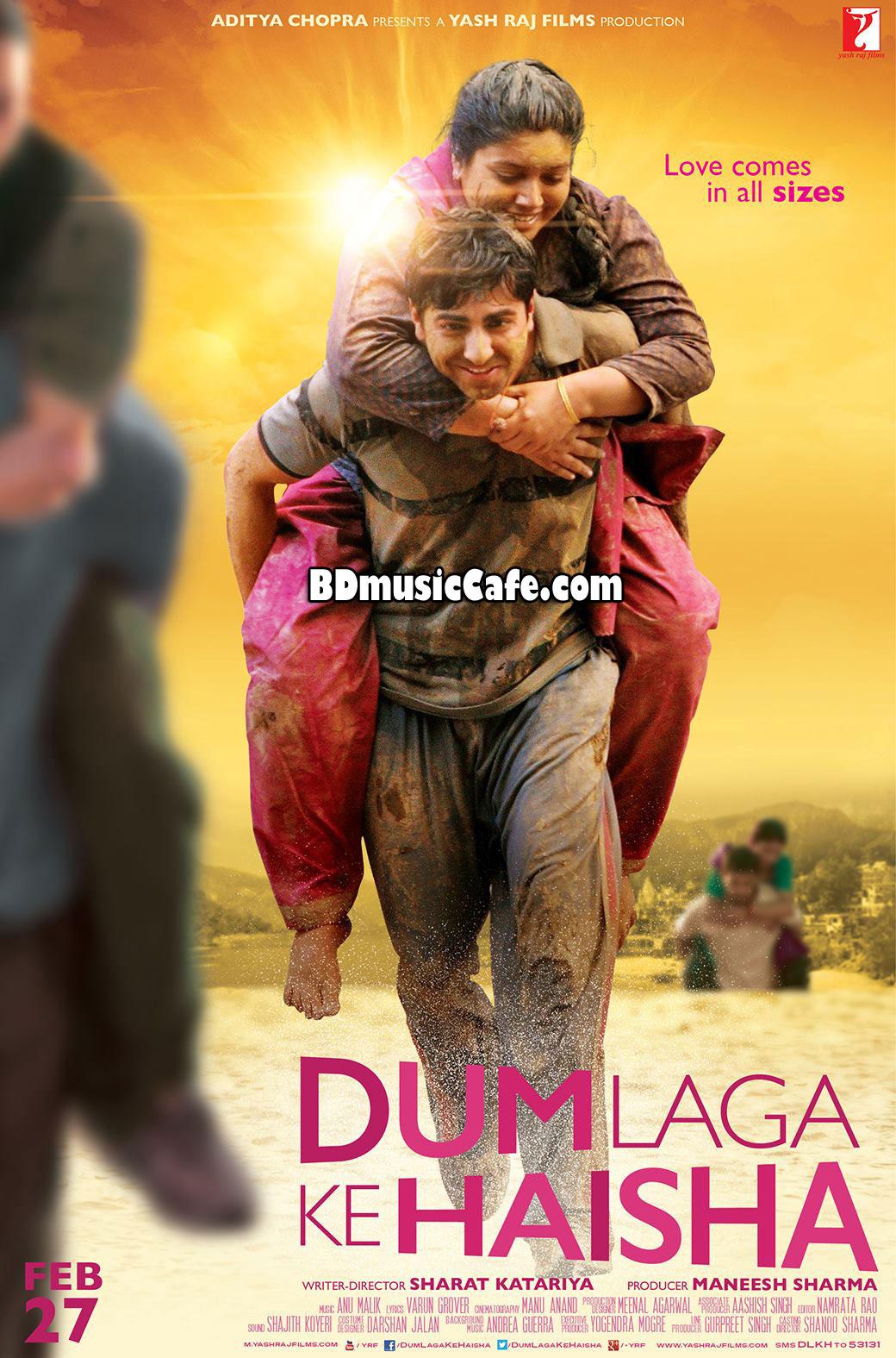 Dum Laga Ke Haisha (2015) Movie Trailer Ayushmann, Bhumi | BD Music ...