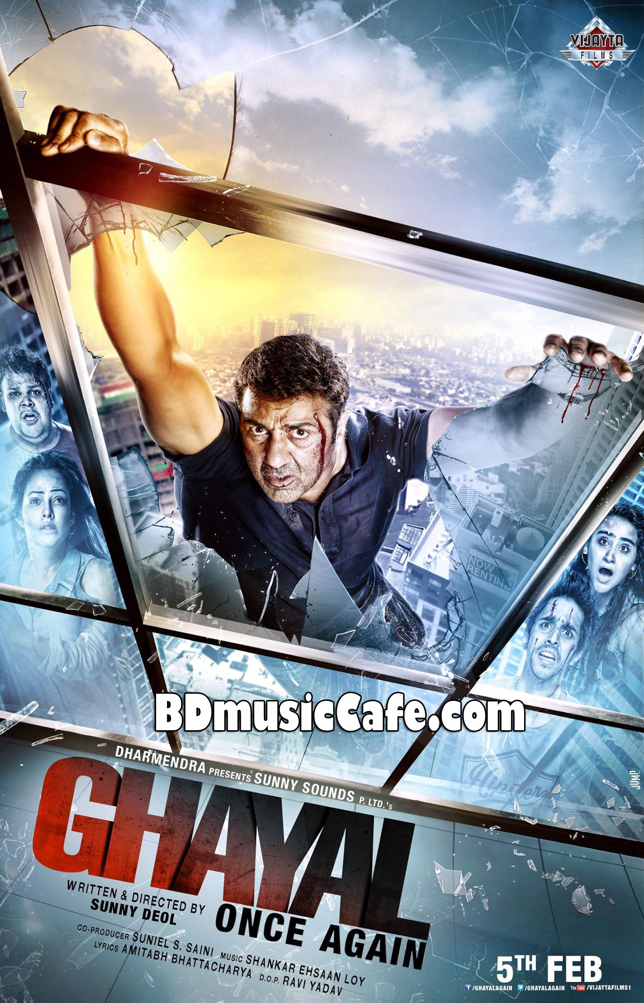 ghayal once again 2016 bollywood movie mp3 songs download